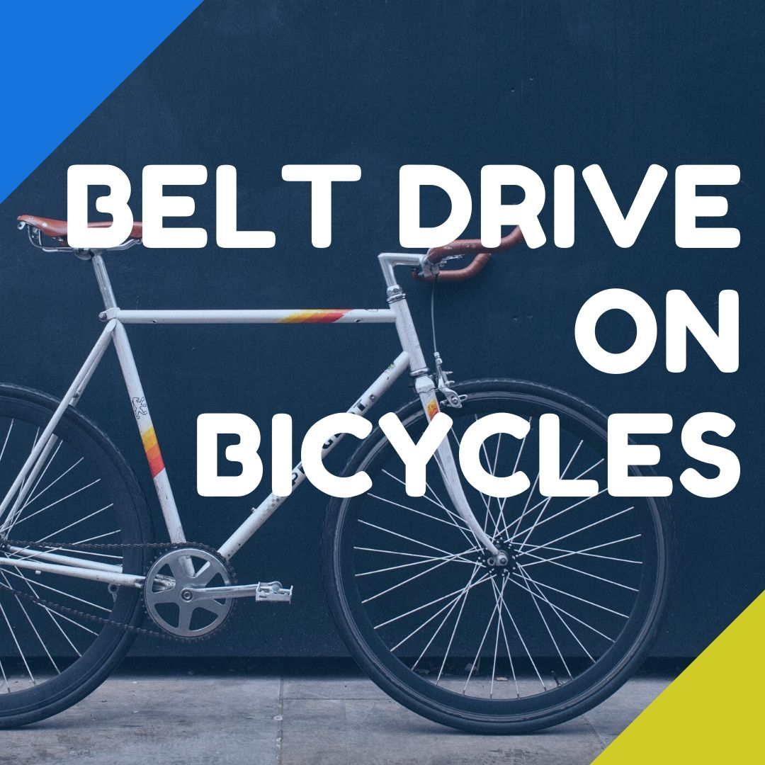 belt drive bicycles